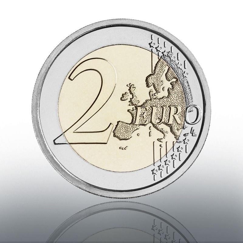 (EUR19.BU.2021.CN1580) 2 euro Vatican 2021 BU - Caravaggio Reverse (zoom)