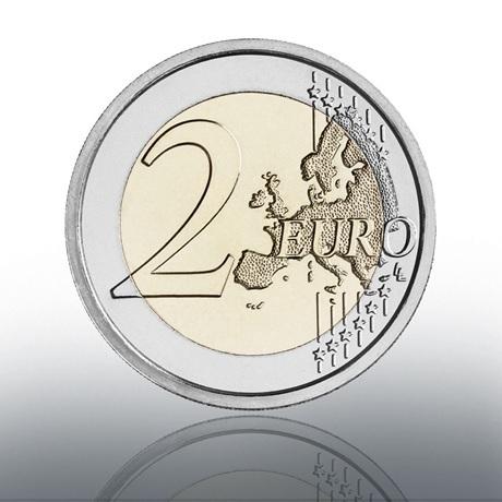 (EUR19.BU.2021.CN1580) 2 euro commémorative Vatican 2021 BU - Le Caravage Revers