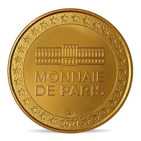 (FMED.Méd.souv.2021.10011357560000) Jeton souvenir - Le Chêne et le Roseau Revers