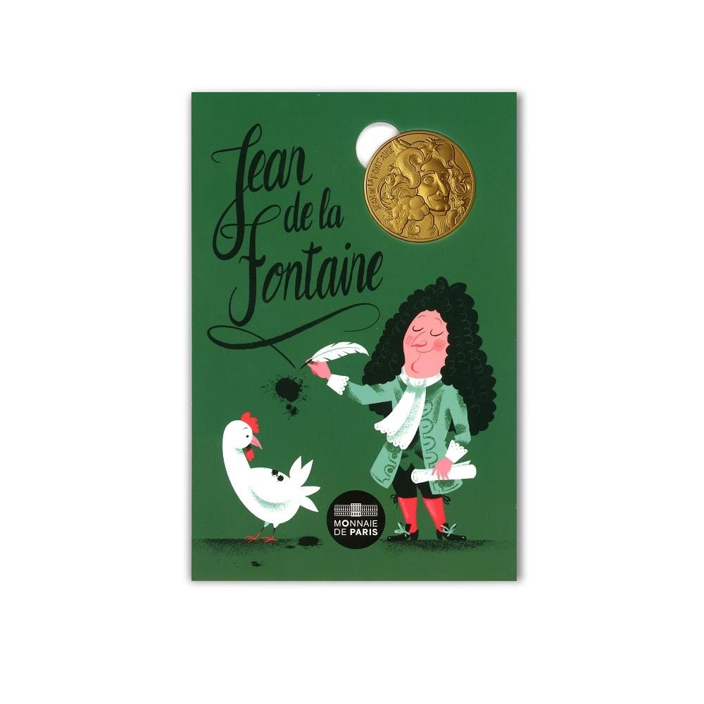 (FMED.Méd.souv.2021.10011357590000) Memory token - Jean de La Fontaine Front (zoom)