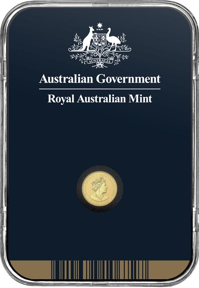 (W017.2.D.2021.10672) 2 Dollars Australie 2021 0.50 g Frosted unc Au - Mini Koala Back (zoom)