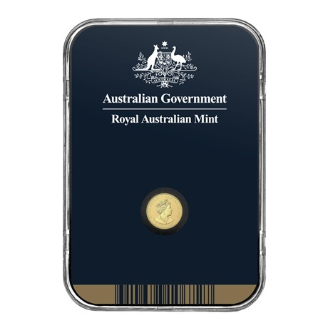 (W017.2.D.2021.10672) 2 Dollars Australie 2021 0,50 g Au BU - Mini Koala Verso
