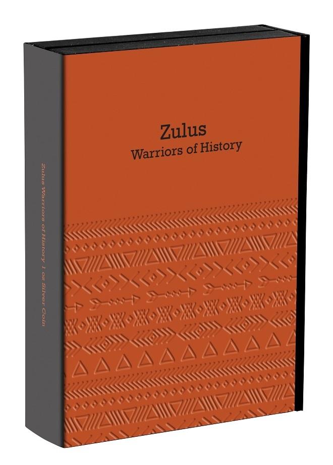 (W160.2.D.2017.1.oz.Ag.14) 2 Dollars Niue 2017 1 oz Antique silver - Zulus (closed) (zoom)