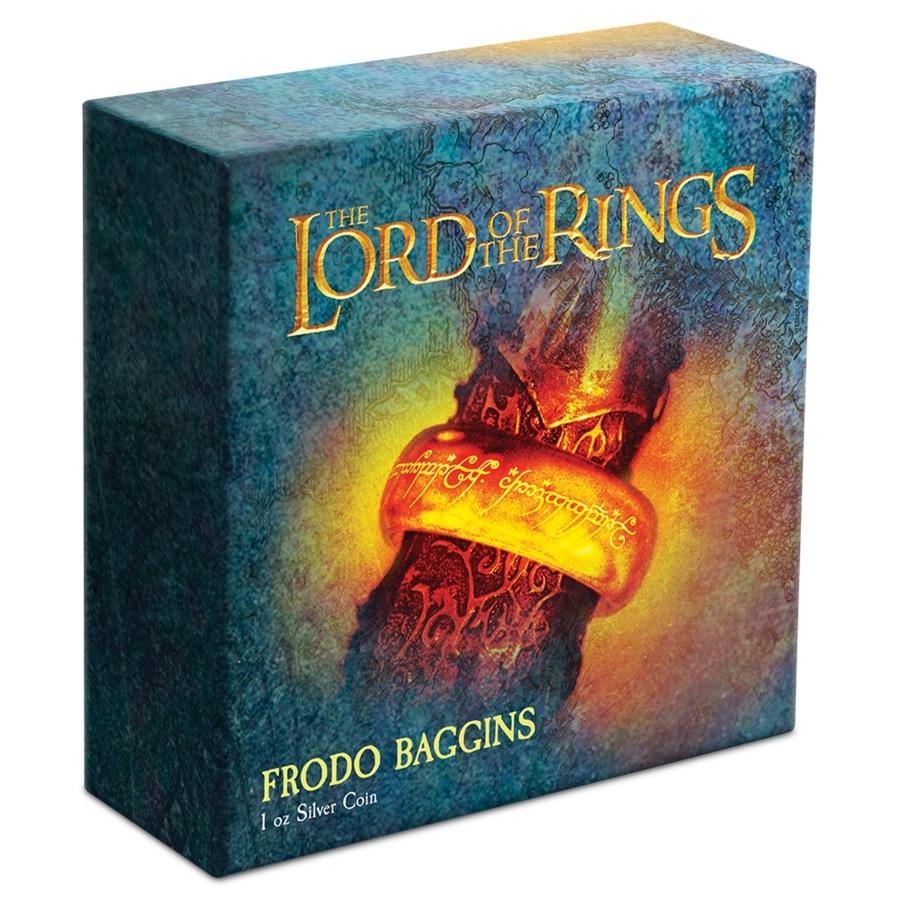 (W160.2.D.2021.30-01075) 2 Dollars Niue 2021 1 oz Proof silver - Frodo Baggins (box) (zoom)