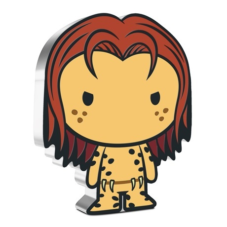 (W160.2.D.2021.30-01089) 2 Dollars Niue 2021 1 once argent BE - Chibi Cheetah Revers