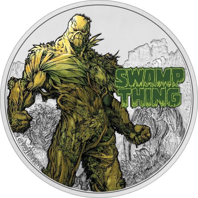 (W160.2.D.2021.NUAG100ST) 2 Dollars Niue 2021 1 oz Proof silver - Swamp Thing Reverse (zoom)