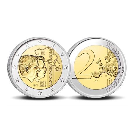 (EUR02.BU.2021.0110320) 2 € Belgique 2021 BU - UEBL - Légende flamande