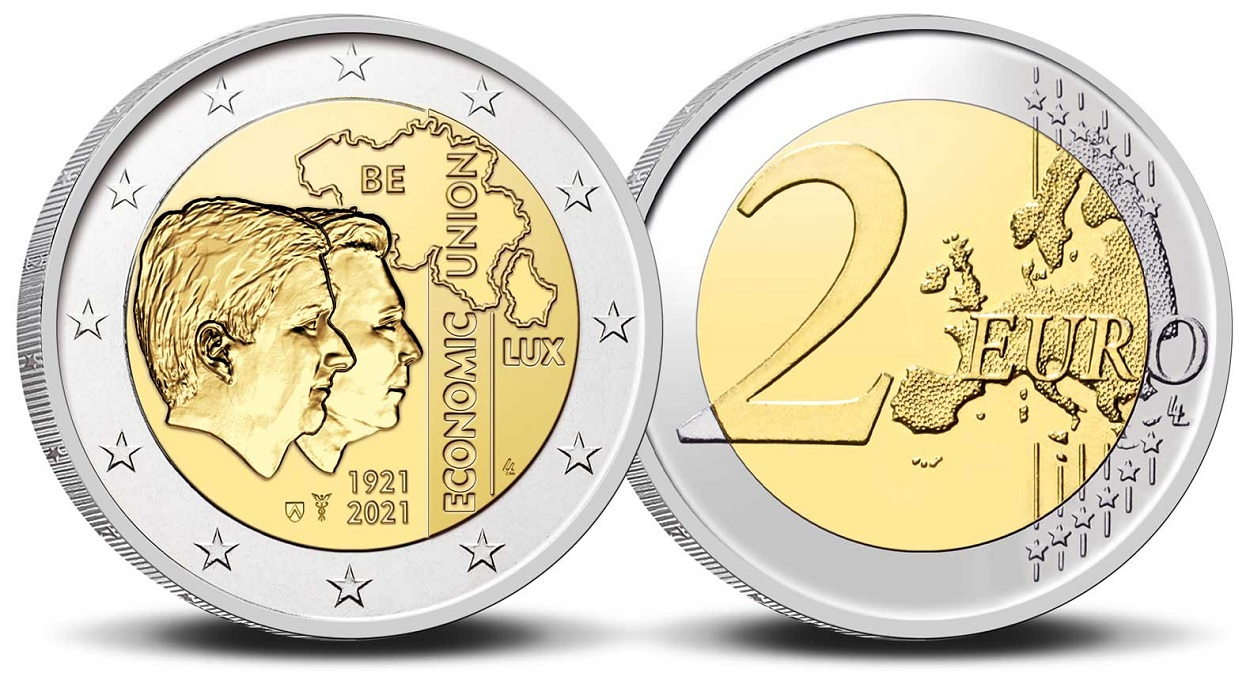 (EUR02.BU.2021.0110320) 2 € Belgium 2021 BU - BLEU - Flemish legend (zoom)