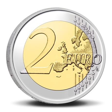 (EUR02.BU.2021.0110320) 2 euro Belgique 2021 BU - UEBL - Légende flamande Revers