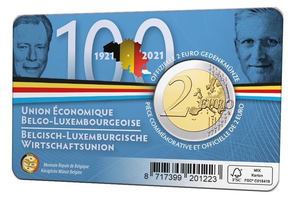(EUR02.BU.2021.0110320) 2 euro Belgium 2021 BU - BLEU - Flemish legend Back (zoom)
