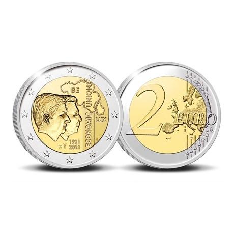 (EUR02.Proof.2021.0110350) 2 € commémorative Belgique 2021 BE - UEBL