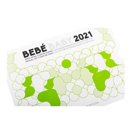 (EUR15.FDC.set.2021.1022807) Coffret FDC Portugal 2021 - Naissance Recto
