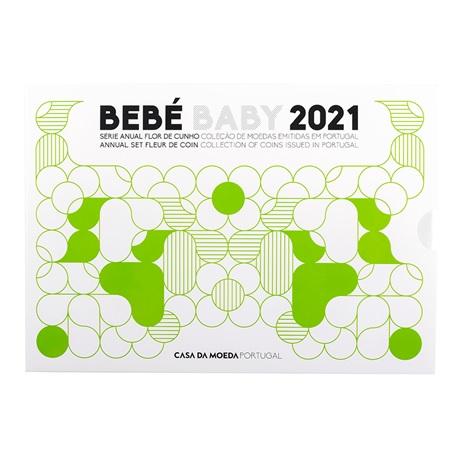 (EUR15.FDC.set.2021.1022807) Coffret FDC Portugal 2021 - Naissance