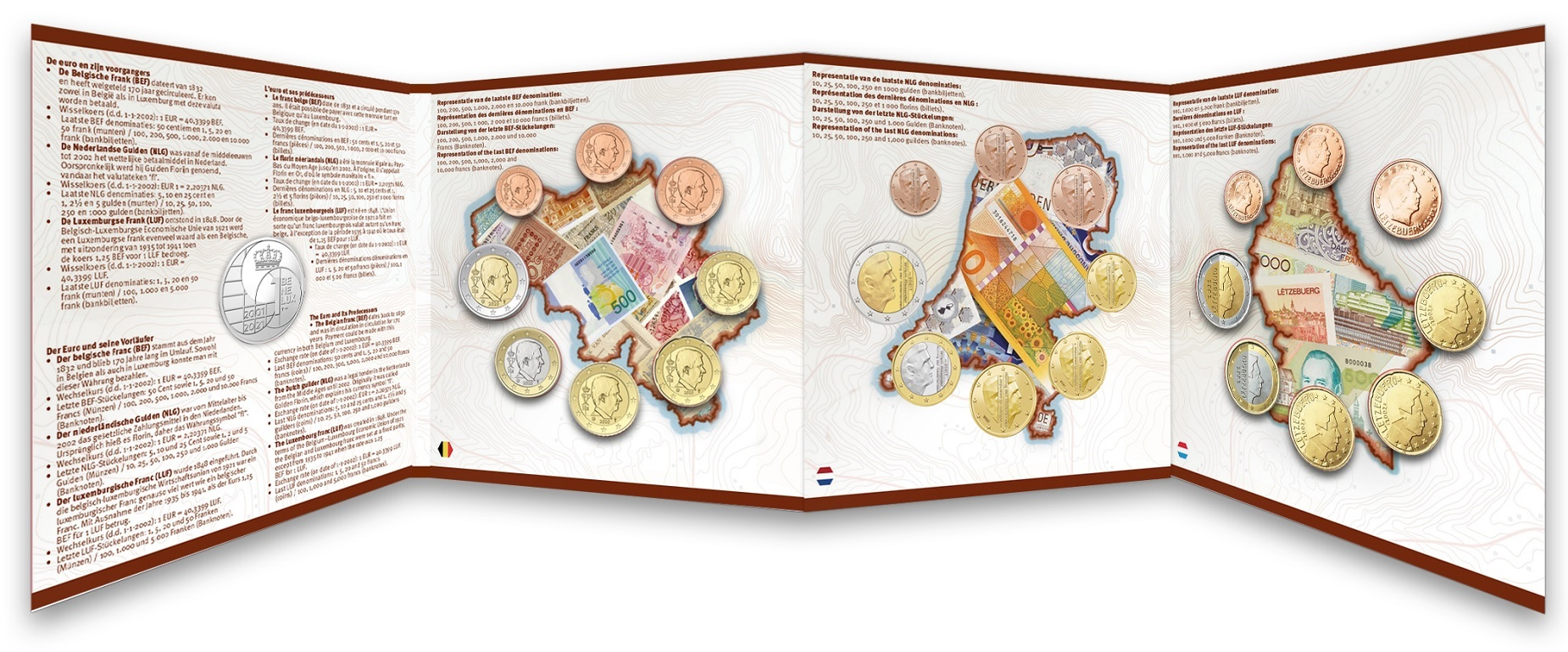 (EUR23.BU.set.2021.0110786) BU coin set Benelux 2021 (inside) (zoom)