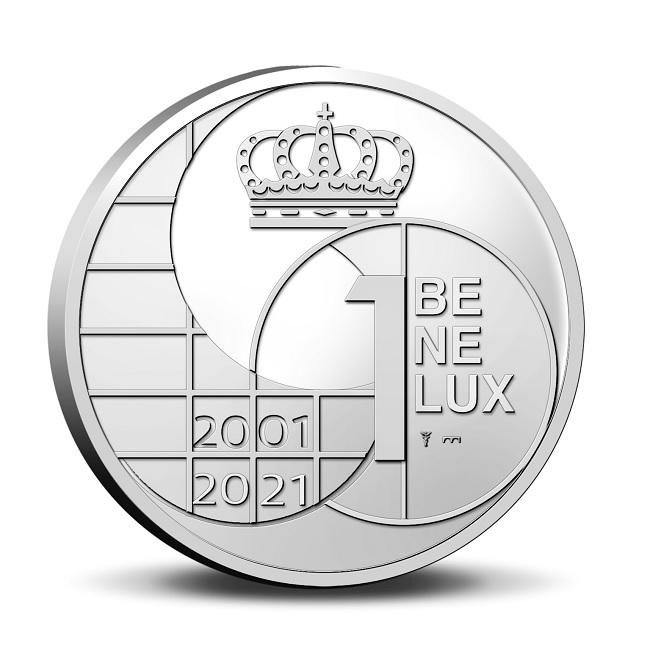 (EUR23.BU.set.2021.0110786) BU coin set Benelux 2021 (medal obverse) (zoom)