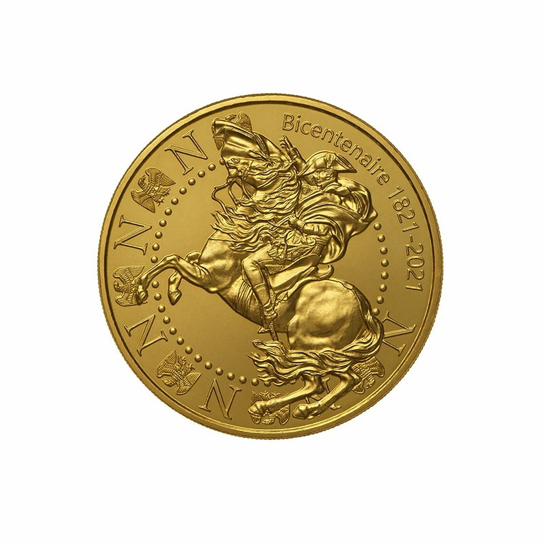 (FMED.Méd.event.2021.3336729168408) Napoleon Crossing the Alps Obverse (zoom)