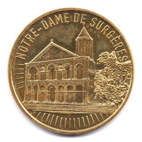 (FMED.Méd.tourist.2019.CuAlNi2.6.50.spl.000000001) Notre-Dame de Surgères Avers