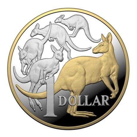 (W017.1.D.2020.10359) 1 Dollar Kangourous 2020 - Argent BE Revers