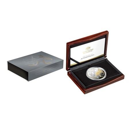 (W017.1.D.2020.10359) 1 Dollar Kangourous 2020 - Argent BE (packaging ouvert)