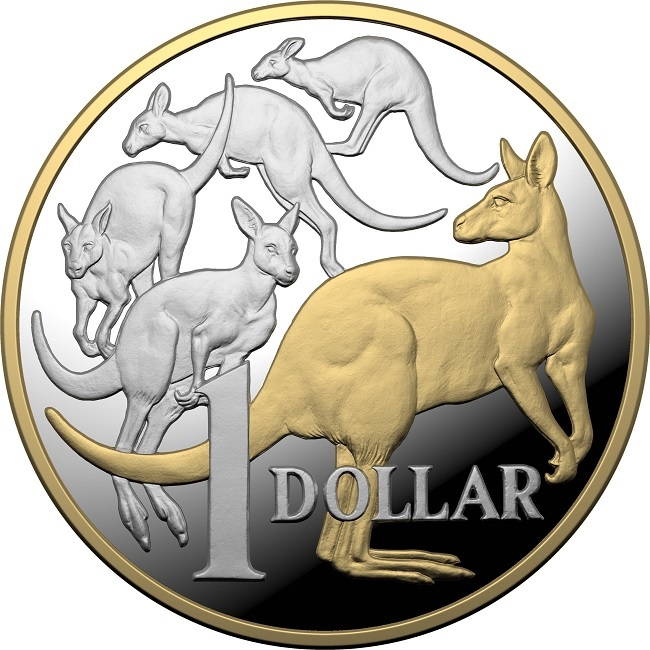 (W017.1.D.2020.10359) 1 Dollar Mob of roos 2020 - Proof silver Reverse (zoom)