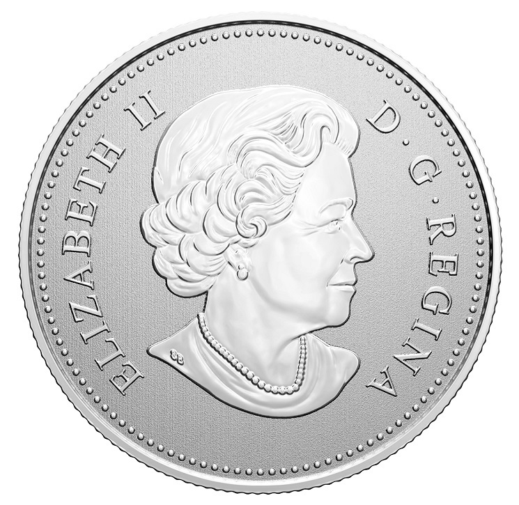 (W037.5.D.2020.176786) 5 Dollars RCMP Canada National Police Force 2020 - BU silver Obverse (zoom)