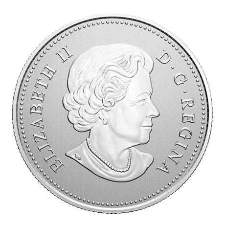 (W037.5.D.2021.176786) 5 Dollars Gendarmerie royale du Canada 2020 - Argent BU Avers