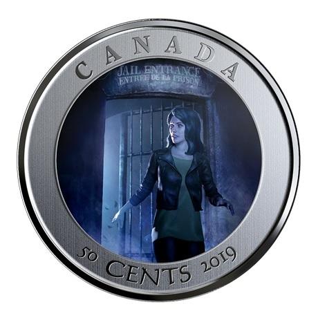 (W037.50.C.2019.174392) 50 Cents Auberge HI Ottawa Jail 2019 BU Revers (grille ouverte)