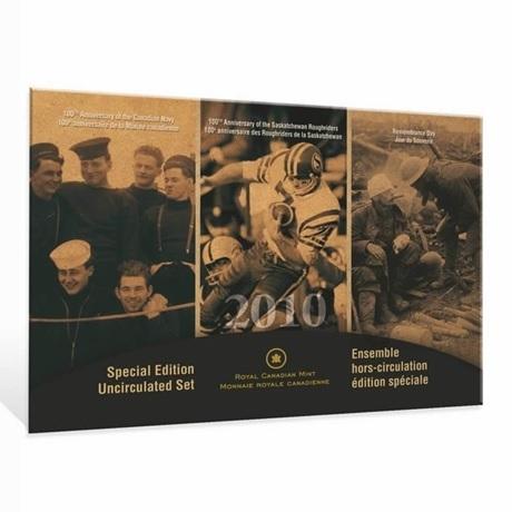 (W037.Unc.set.2010.112032) Coffret FDC Canada 2010 (Marine canadienne)