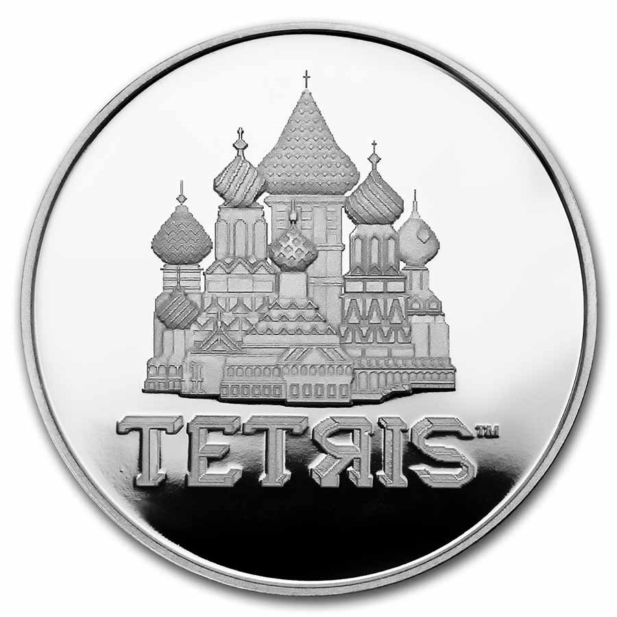 (W160.2.D.2021.1.oz.Ag.8) 2 Dollars Niue 2021 1 oz Proof silver - Tetris Reverse (zoom)