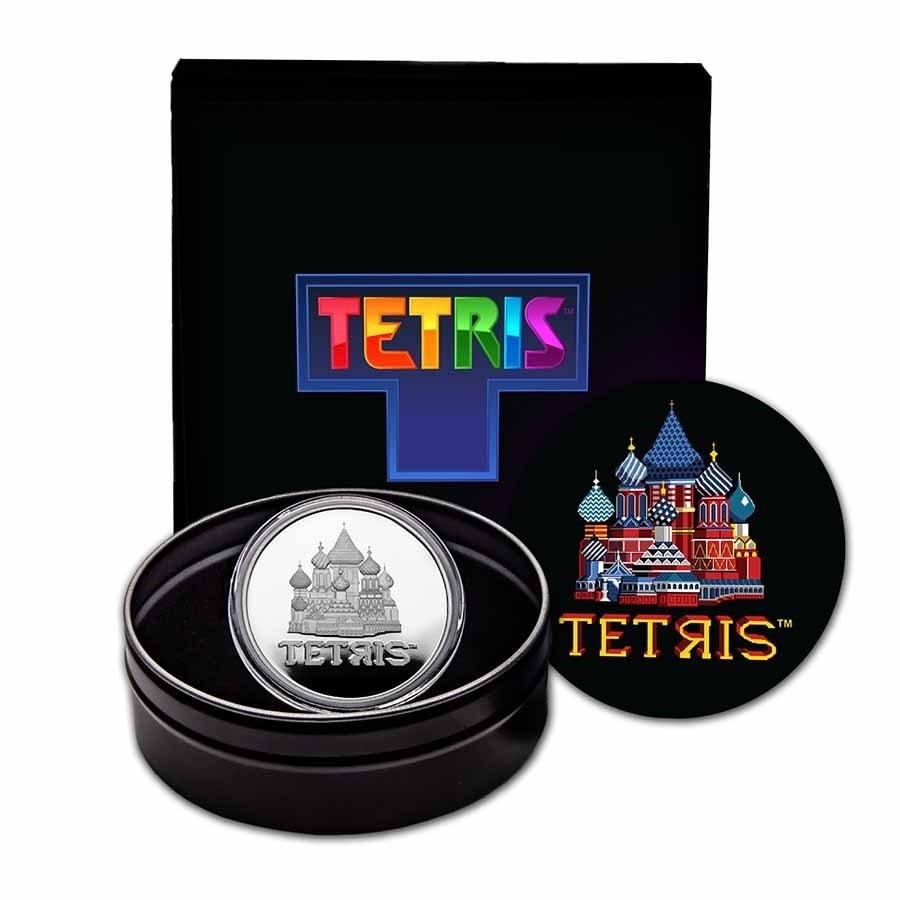 (W160.2.D.2021.1.oz.Ag.8) 2 $ Niue 2021 1 oz Proof Ag - Tetris (packaging) (zoom)