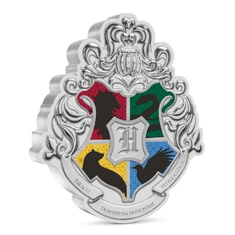 (W160.2.D.2021.30-01096) 2 Dollars Niue 2021 1 once argent BE - Armoiries de Poudlard Revers