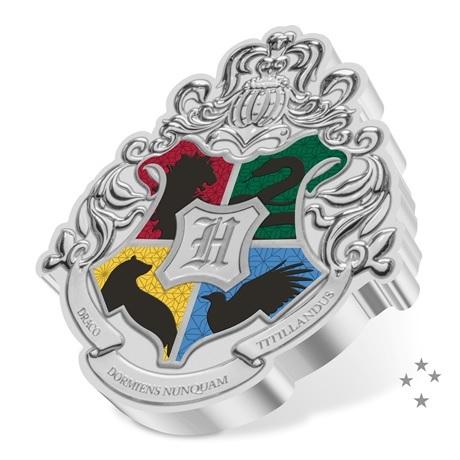 (W160.2.D.2021.30-01096) 2 $ Niue 2021 1 once Ag BE - Armoiries de Poudlard Revers