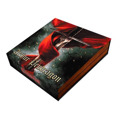 (W160.5.D.2021.2) 5 Dollars Le roi Arthur 2021 - Argent Antique (packaging)