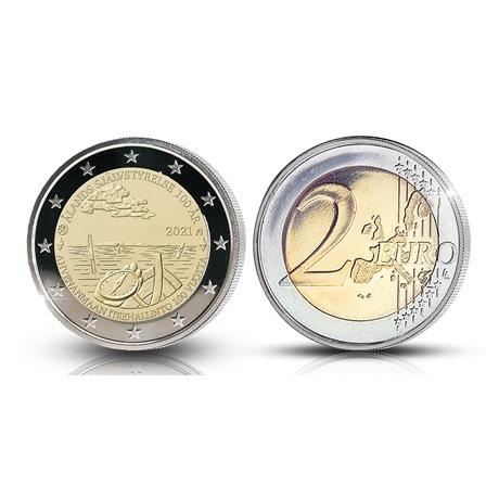 (EUR06.Proof.2021.2.E.2) 2 euro commémorative Finlande 2021 BE - Autonomie Åland