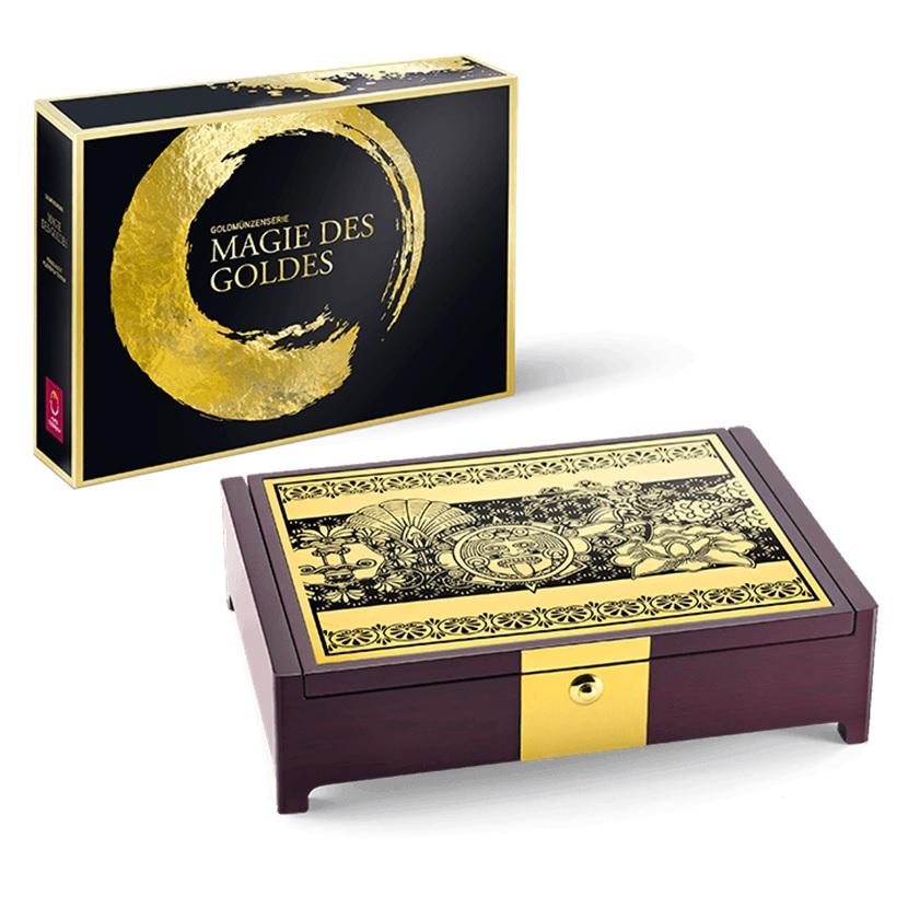 (MATMünzeÖ.case.24299) Collector case Austrian Mint - Magic of Gold (zoom)