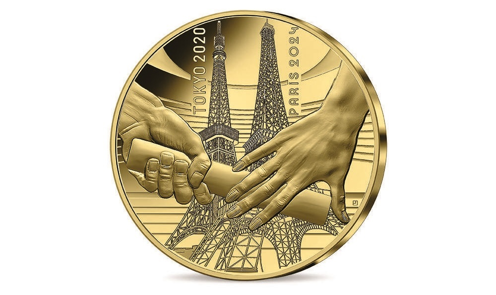 (EUR07.Proof.2021.10041355540000) 200 euro France 2021 Proof gold - Paris Olympics Obverse (zoom)