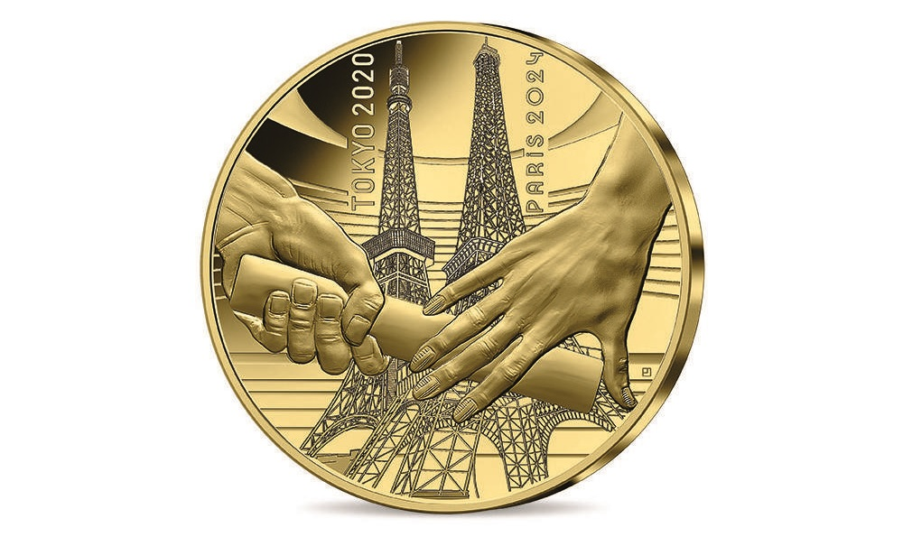 (EUR07.Proof.2021.10041355550000) 50 euro France 2021 Proof gold - Paris Olympics Obverse (zoom)
