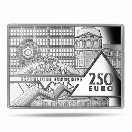 (EUR07.Proof.2021.10041356320000) 250 euro France 2021 argent BE - Persistance mémoire Avers
