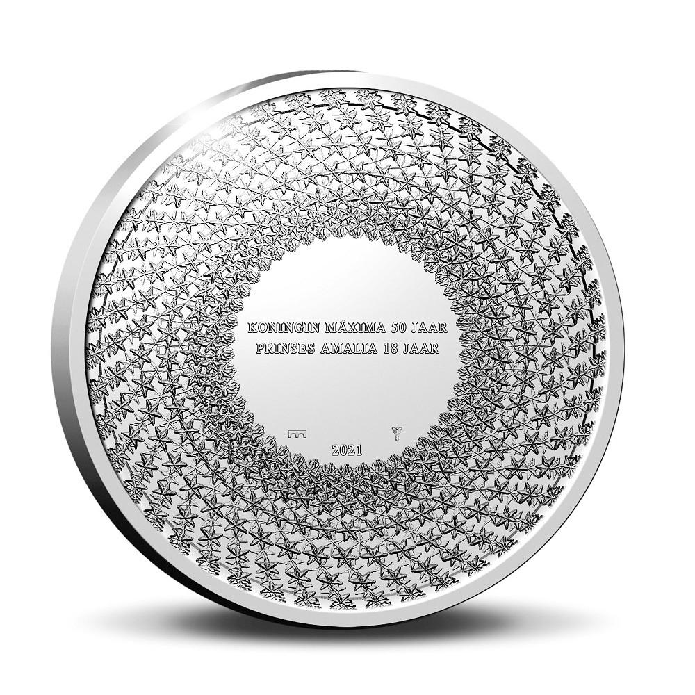 (EUR14.BU.set.2021.0111672) BU coin set Netherlands 2021 - Birthdays (medal reverse) (zoom)