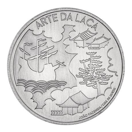 (EUR15.5.E.2021.12500616) 5 euro Portugal 2021 - Art de la laque Revers