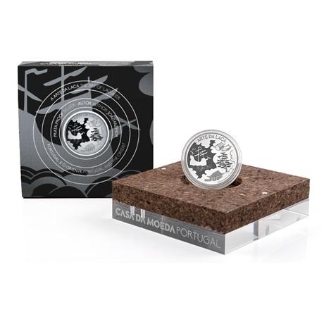 (EUR15.Proof.2021.1024293) 5 euro Portugal 2021 Ag BE - Art de la laque (packaging)