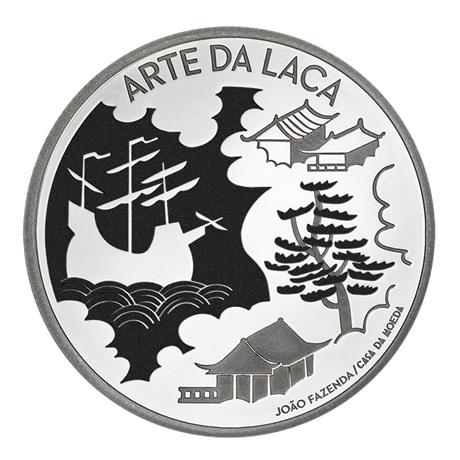 (EUR15.Proof.2021.1024293) 5 euro Portugal 2021 argent BE - Art de la laque Revers