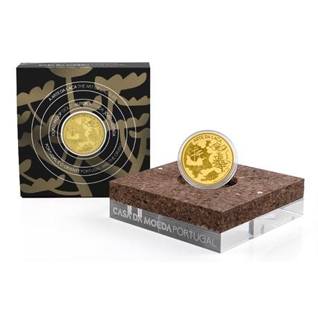 (EUR15.Proof.2021.1024294) 5 euro Portugal 2021 Au BE - Art de la laque (packaging)