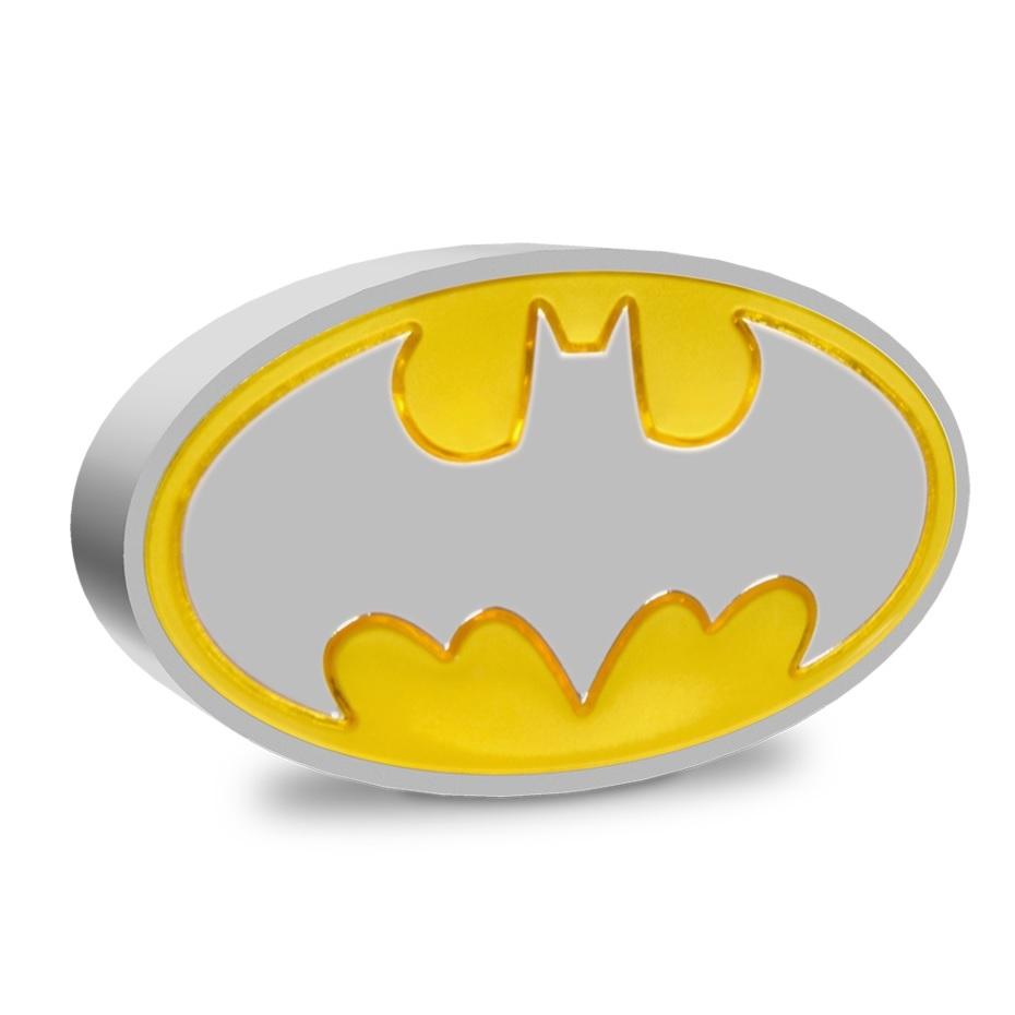 (W160.2.D.2021.30-01129) 2 Dollars Niue 2021 1 oz Proof silver - Batman logo Reverse (zoom)