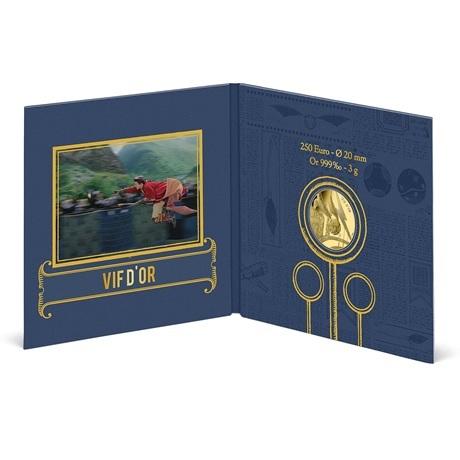 (EUR07.BU.2021.10041356980001) 250 euro France 2021 or BU - Vif Or (intérieur packaging)