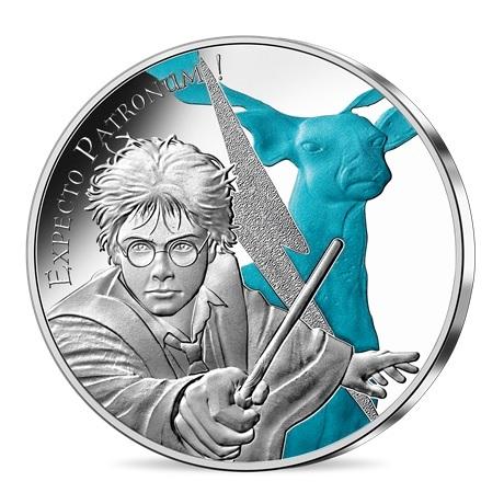 (EUR07.Unc.2021.10041356970005) 50 euro France 2021 argent - Expecto Patronum Avers