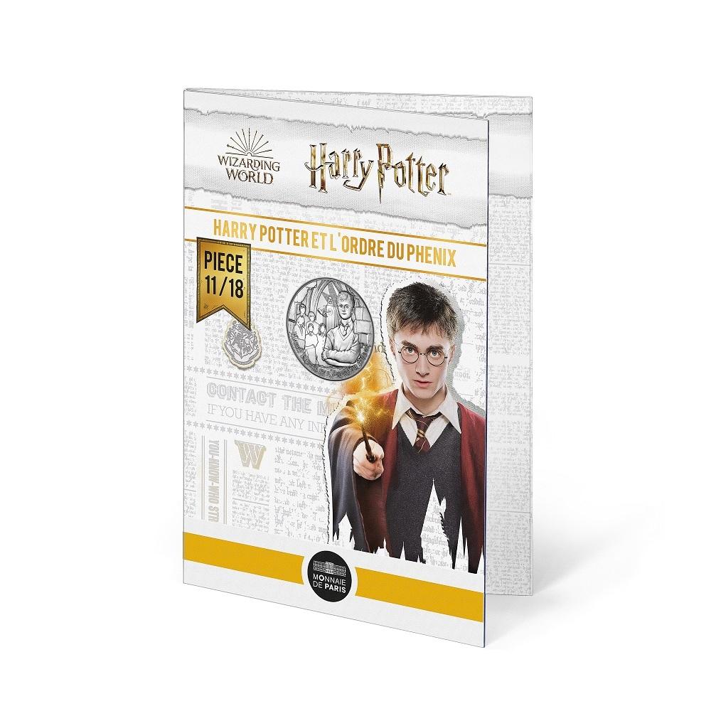(EUR07.Unc.2021.10041357010005) 10 euro France 2021 Ag - Harry Potter & Order of Phoenix (blister) (zoom)