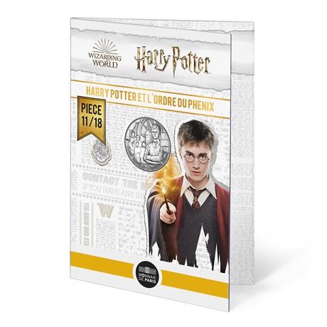(EUR07.Unc.2021.10041357010005) 10 euro France 2021 Ag - Harry Potter et Ordre du Phénix (packaging)