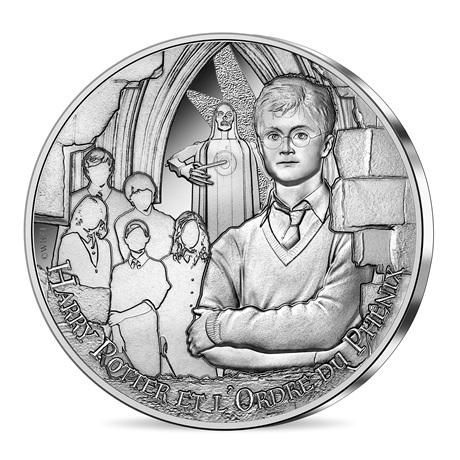 (EUR07.Unc.2021.10041357010005) 10 euro France 2021 argent - Harry Potter et Ordre du Phénix Avers