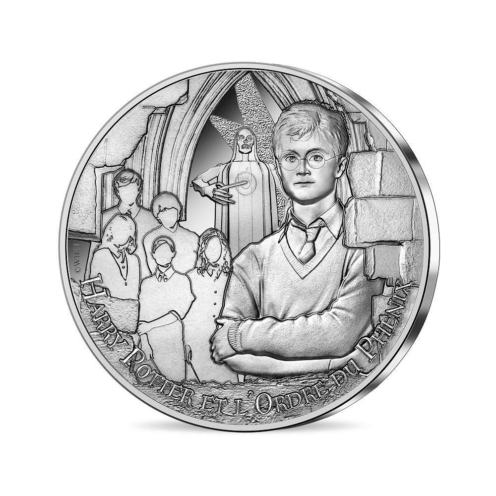 (EUR07.Unc.2021.10041357010005) 10 euro France 2021 silver - Harry Potter & Order of Phoenix Obverse (zoom)